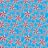 Celebration idea background, beautiful stars. Seamless backgroun