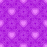 Seamless texture with heart