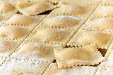Homemade Piedmont Agnolotti