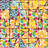 Creative patterned frame