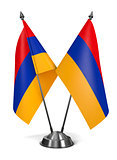 Armenia - Miniature Flags.