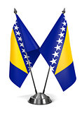 Bosnia and Herzegovina - Miniature Flags.