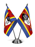 Swaziland - Miniature Flags.