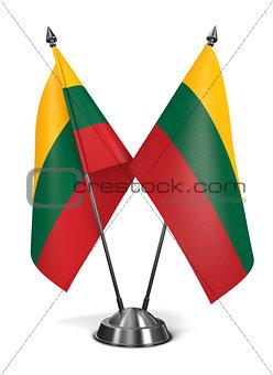Lithuania - Miniature Flags.