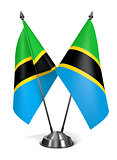 Tanzania - Miniature Flags.