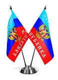 Lugansk People's Republic - Miniature Flags.