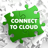 Connect to Cloud on Green Puzzle.