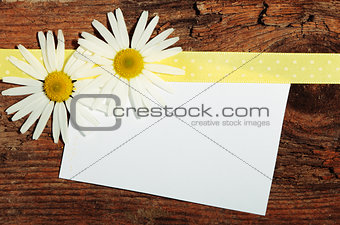 Greeting post card
