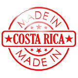 Made in Costa Rica red seal