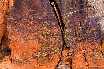 Beaver Creek Style Petrogylphs
