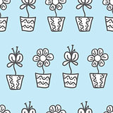 Vector seamless background. wallpaper with a repeating pattern o