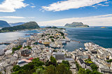 Alesund view, Norway