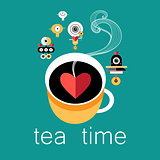 cup of tea lovers and robots