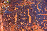 Petroglyph Birds and Other Symbols