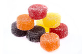 Colorful candies sweets
