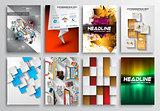 Set of Flyer Design, Infgraphics, Brochure Designs