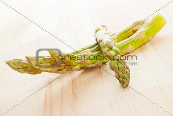 Asparagus background.