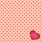 Happy Valentines day collection background