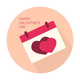 Happy Valentines day collection icon