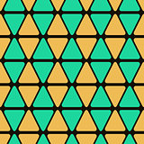 Geometric Seamless Pattern with Triangles
