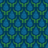 Go Green Concept Seamless Pattern