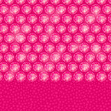 Round Gemstones on Pink Background
