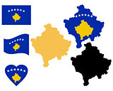 map of Kosovo