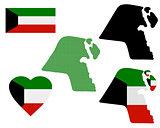map of Kuwait