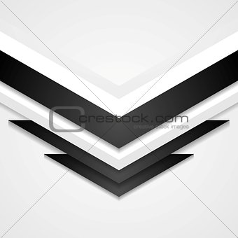 Abstract corporate background with arrows elements