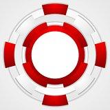 Vibrant corporate tech circles background