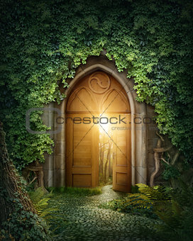 Mysterious entrance