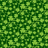 St. Patrick day seamless pattern