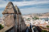 Part of Gibralfaro fortress
