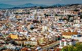 Malaga cityscape. Andalusia, Spain