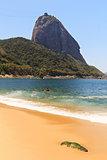 Mountain Sugarloaf Red beach (Praia Vermelha), Rio de janeiro, B