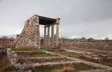 Ancient ruin in Hierapolis, Turkey