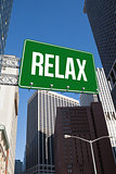 Relax against new york