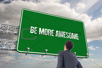 Be more awesome against sky