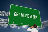 Get more sleep against sky