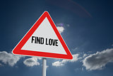 Find love against sky