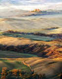 A paint of Tuscany