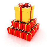 Bright christmas gifts