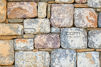 beautiful background. cobbles shot close up