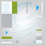 Vector abstract lines, clear eps 8 vector.