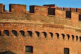 Defensive tower Dohna. Kaliningrad (former Konigsberg), Russia