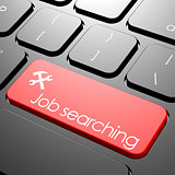 Job searching keyboard