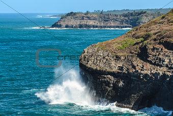 Cliffs Near Kilauea, Kauai