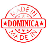 Made in Dominica red seal
