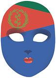 Eritrea mask