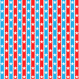 Stars striped seamless pattern.